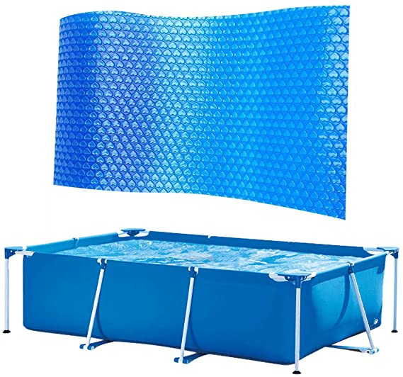 WQG 2020 Swimming Pools Cover, Pool Insulation Protection Pad Summer Inflatable Pool Pad Protector F