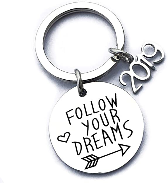 2020 Graduation Gifts Stainless Steel Keychain Inspirational Keychain - 2020 Graduation Gifts Keycha