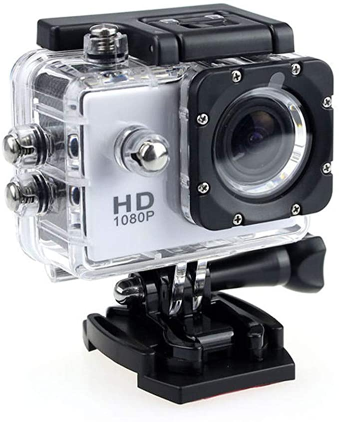 2020 New Waterproof Camera HD 1080P Sport Action Camera DVR Cam DV Video Camcorder