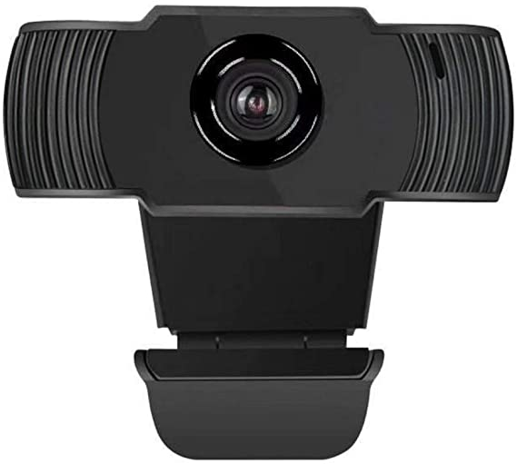 WQG 1080P Webcam with Dual Microphones for Video Calling Gaming Conferencing, Laptop or Desktop USB