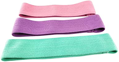 COLNER 3 Pack Stretch Strap - Leg Stretch Band to Improve Flexibility - Stretching Out Yoga Strap -
