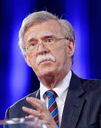 NATIONAL SECURITY ADVISOR JOHN BOLTON'S MOUSTACHE IN OVAL-OFFICE CLEARING BRAWL WITH LEGAL COUNSEL TY COBB'S MOUSTACHE by Marijuana Clown from MarijuanaClown.com
