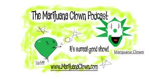 Hosts of the marijuana-themed comedy podcast