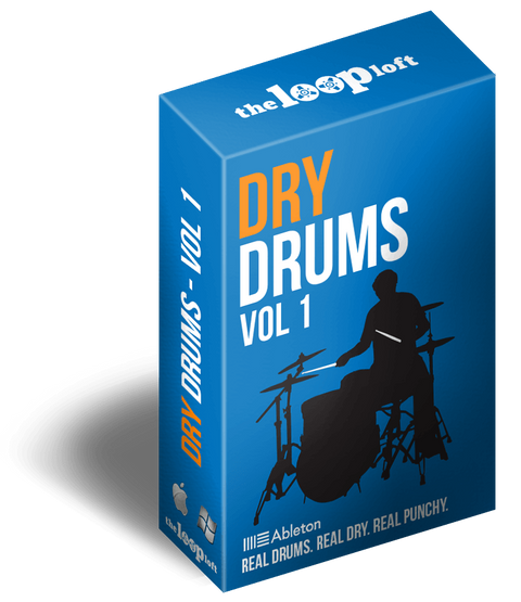 The Loop Loft Loop Pack Ableton Live Pack - Dry Drums Vol 1