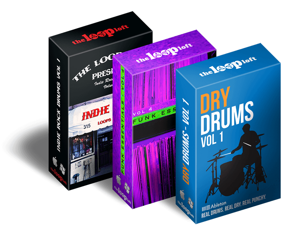 ableton ultimate drums bundle the loop loft. Black Bedroom Furniture Sets. Home Design Ideas
