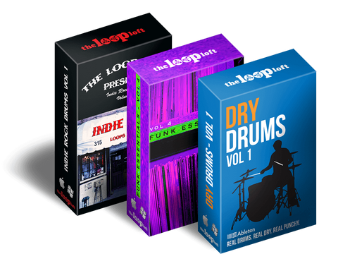 The Loop Loft Loop Pack Ableton Ultimate Drums Bundle
