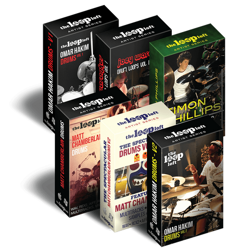 The Loop Loft Loop Pack All-Star Multitrack Drum Sessions Bundle
