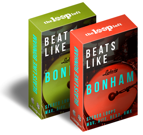 The Loop Loft Loop Pack Beats Like Bonham Bundle - WAV, REX2, AIFF & Stylus RMX