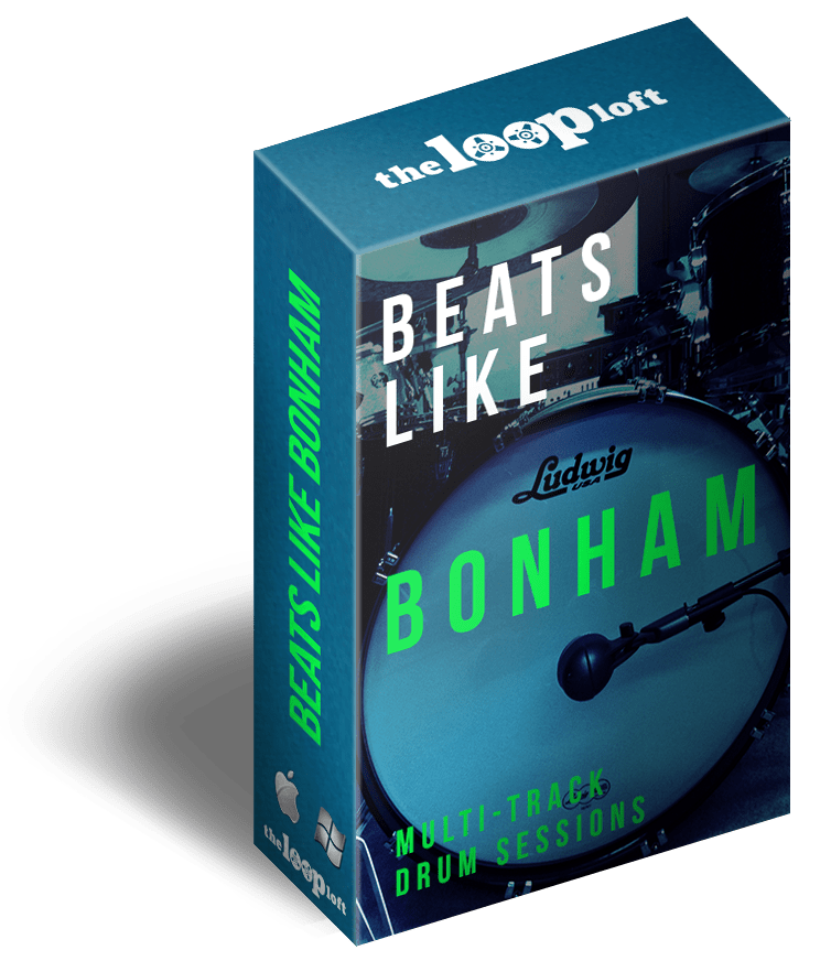 The Loop Loft Loop Pack Beats Like Bonham - Complete Takes Vol 6