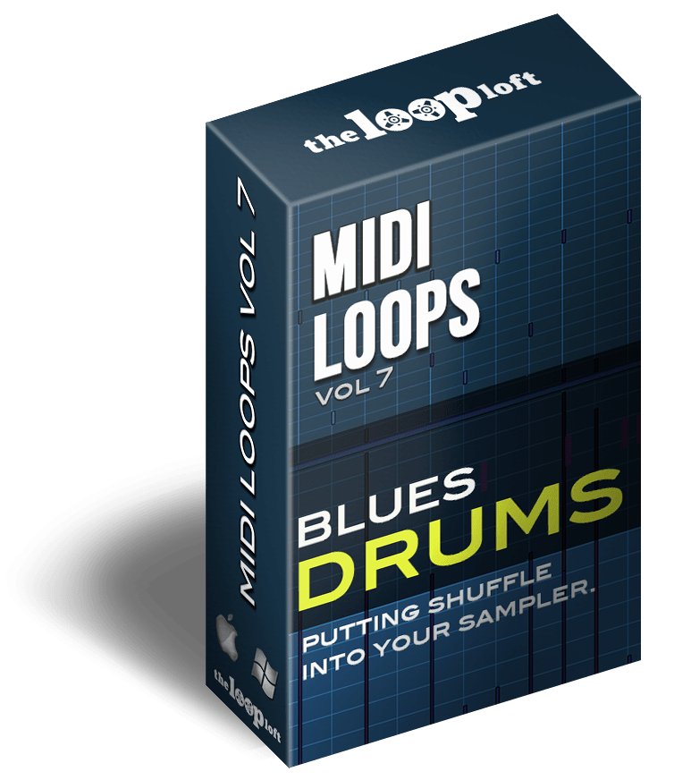 The Loop Loft Loop Pack Blues Drums - MIDI Drum Loops