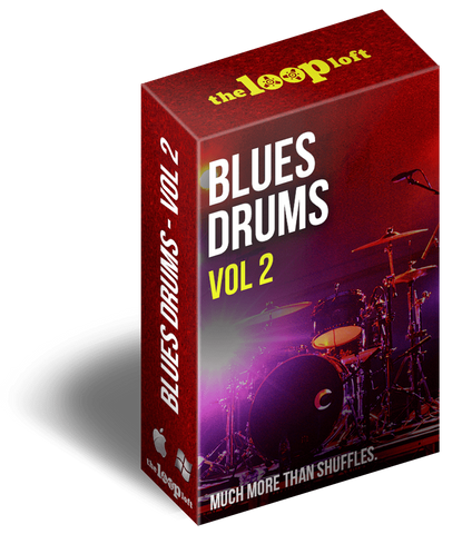 The Loop Loft Loop Pack Blues Drums Volume 2