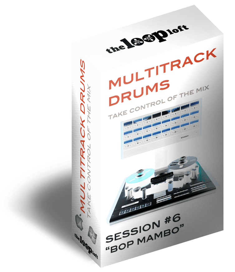 The Loop Loft Loop Pack Bop Mambo - Multitrack Drums Session #6