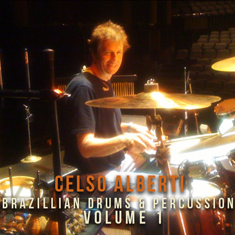 The Loop Loft Loop Pack Celso Alberti - Brazilian Drums & Percussion Vol 1