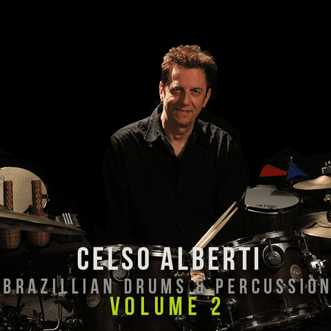 The Loop Loft Loop Pack Celso Alberti - Brazilian Drums & Percussion Vol 2