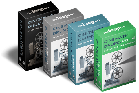 The Loop Loft Loop Pack Cinematic Drums Bundle