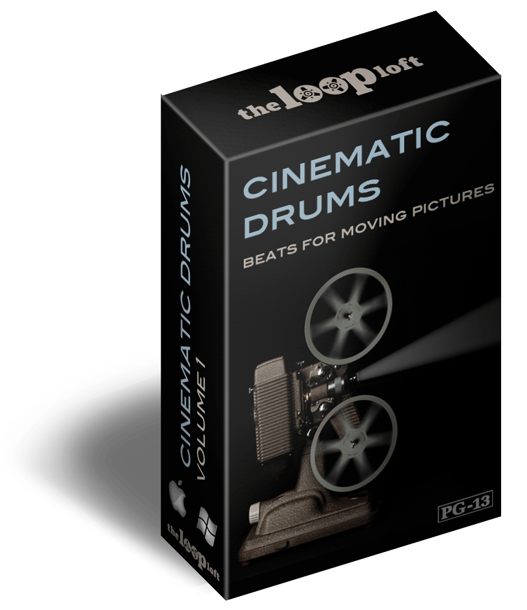 The Loop Loft Loop Pack Cinematic Drums Volume 1