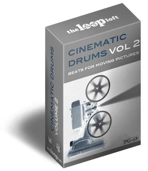 The Loop Loft Loop Pack Cinematic Drums Volume 2