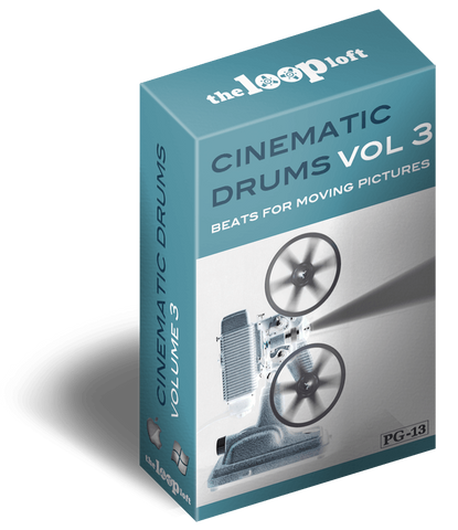 The Loop Loft Loop Pack Cinematic Drums Volume 3