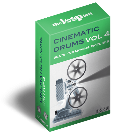 The Loop Loft Loop Pack Cinematic Drums Volume 4