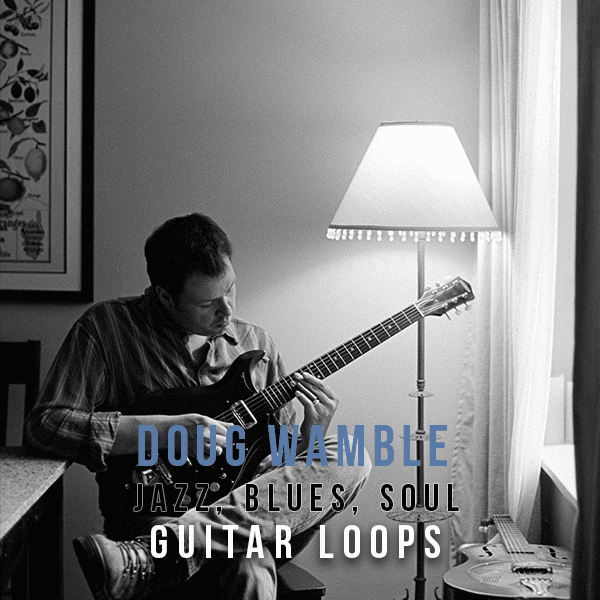 The Loop Loft Loop Pack Doug Wamble - Jazz, Blues & Soul Guitar Loops