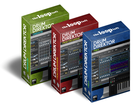 The Loop Loft Loop Pack Drum Direktor Bundle