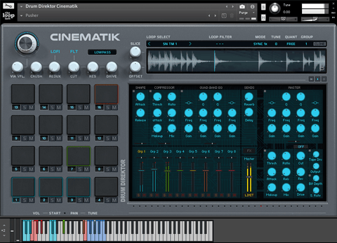 The Loop Loft Loop Pack Drum Direktor CINEMATIK