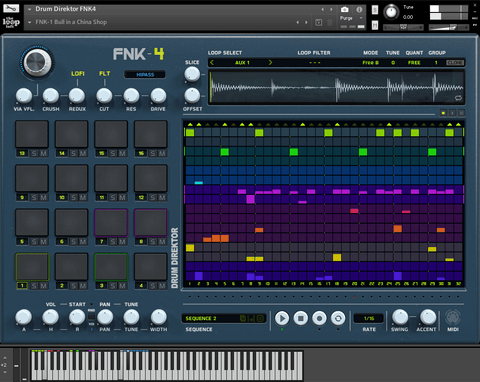 The Loop Loft Loop Pack Drum Direktor FNK-4