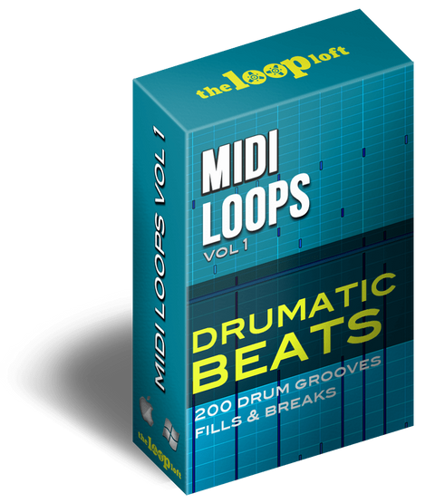 The Loop Loft Loop Pack Drumatic Beats - MIDI Drum Loops