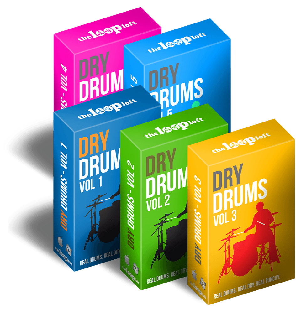 The Loop Loft Loop Pack Dry Drums Bundle - Save 50%