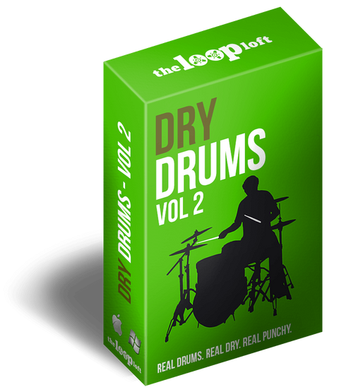 The Loop Loft Loop Pack Dry Drums Vol 2