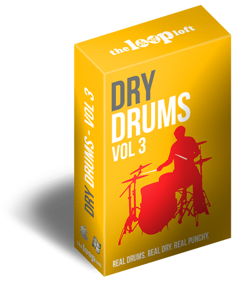 The Loop Loft Loop Pack Dry Drums Vol 3