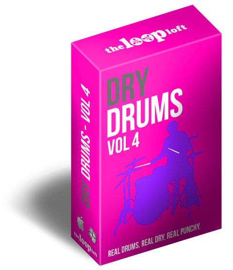 The Loop Loft Loop Pack Dry Drums Vol 4