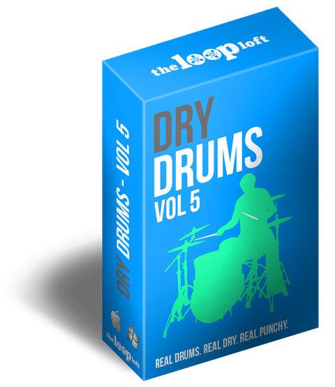 The Loop Loft Loop Pack Dry Drums Vol 5