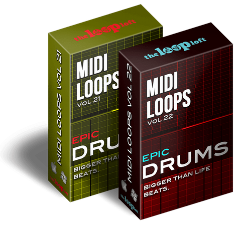 The Loop Loft Loop Pack Epic Drums Bundle - MIDI Drum Loops