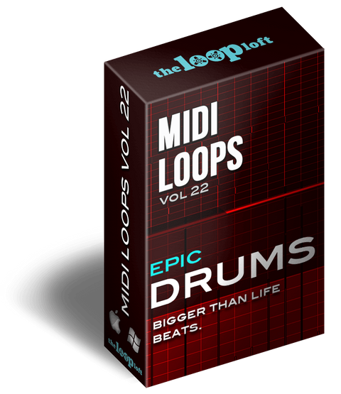 The Loop Loft Loop Pack Epic Drums Vol 2 - MIDI Drum Loops