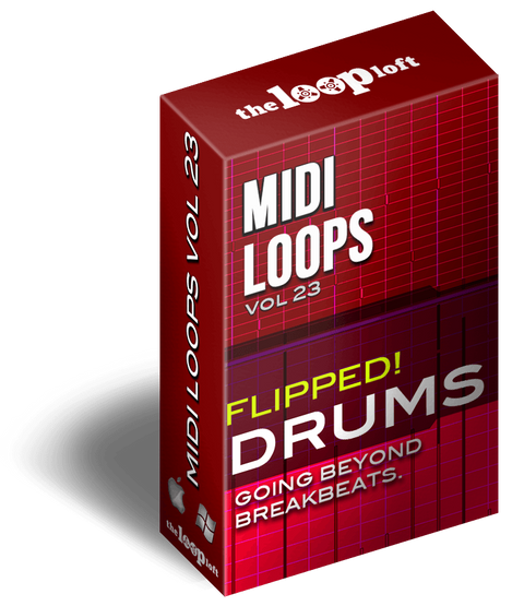 The Loop Loft Loop Pack Flipped Drums Vol 1 - MIDI Drum Loops