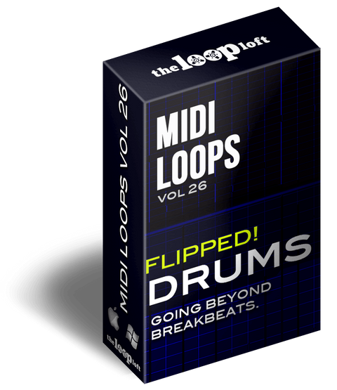 The Loop Loft Loop Pack Flipped Drums Vol 2 - MIDI Drum Loops