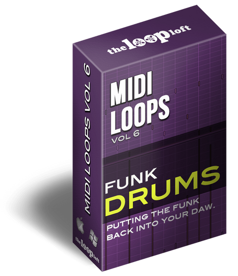 The Loop Loft Loop Pack Funk Drums - MIDI Drum Loops