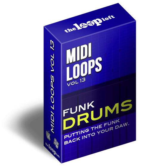 The Loop Loft Loop Pack Funk Drums Vol 2 - MIDI Drum Loops