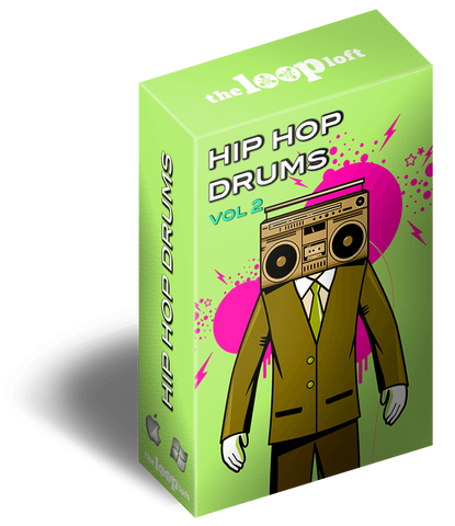 The Loop Loft Loop Pack Hip Hop Drums Vol 2