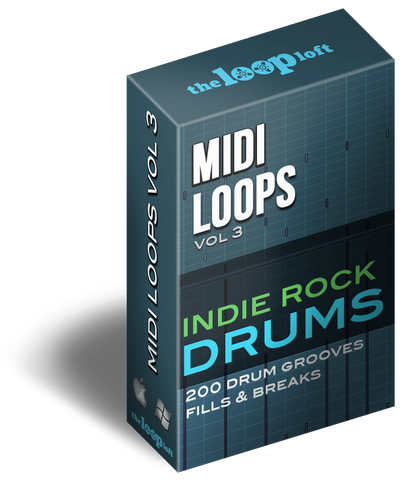 The Loop Loft Loop Pack Indie Rock Drums - MIDI Drum Loops