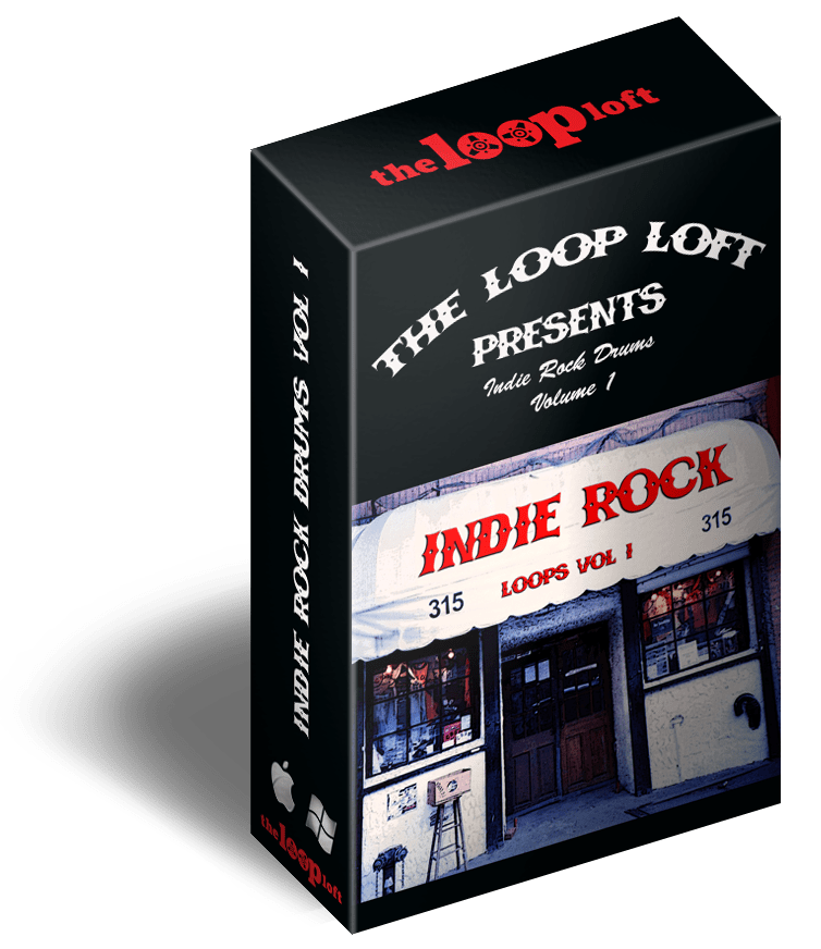 The Loop Loft Loop Pack Indie Rock Drums Vol 1