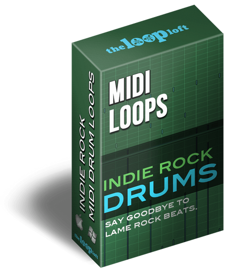 The Loop Loft Loop Pack Indie Rock Drums Vol 2 - MIDI Drum Loops