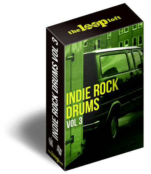 The Loop Loft Loop Pack Indie Rock Drums Vol 3