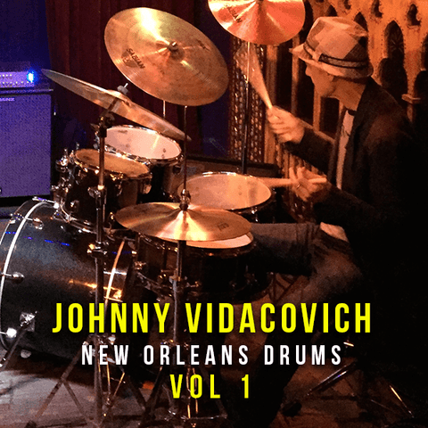 Johnny Vidacovich - New Orleans Drums Vol 1