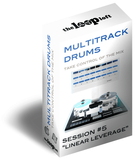 The Loop Loft Loop Pack Linear Leverage - Multitrack Drums Session #5