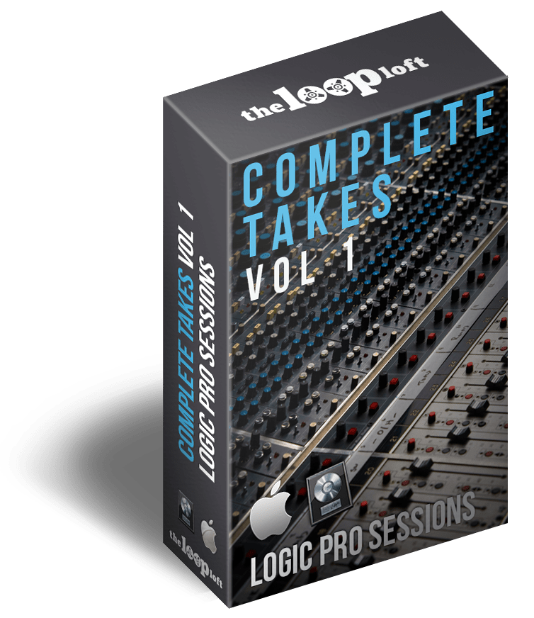 The Loop Loft Loop Pack Logic Pro Sessions - Complete Takes Vol 1