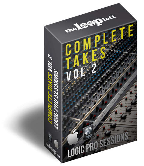 The Loop Loft Loop Pack Logic Pro Sessions - Complete Takes Vol 2