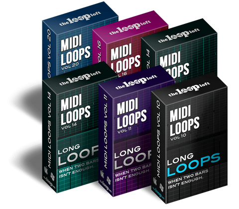 The Loop Loft Loop Pack Long Loops MIDI Bundle - Save 50%