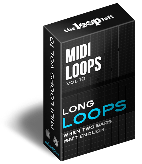 The Loop Loft Loop Pack Long Loops - MIDI Drum Loops